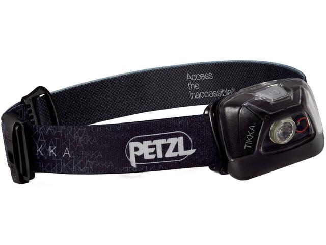 Petzl Tikka Stirnlampe schwarz